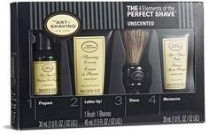 The Art Of Shaving Unscented Mid Size Kit Badger Shaving Brush, Shaving Oil, Shaving Cream, Bald Look, The Art Of Shaving, Razor Burns, Pre Shave, L5r, After Shave Balm
