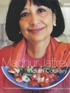 Madhur Jaffrey's Indian Cookery by Madhur Jaffrey . A welcome expanded and updated edition of her wonderful BBC cookery book from years ago.