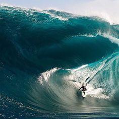 Triple decker wave. Bring it on! #CTTO