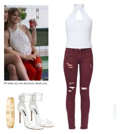 Brooke Maddox - mtv scream by shadyannon on Polyvore featuring polyvore fashion style Miss Selfridge Casadei Jules Smith clothing