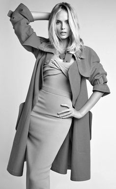 Gorgeous! - Natasha Poly for Vogue China, January 2014.Photographed by: Patrick Demarchelier