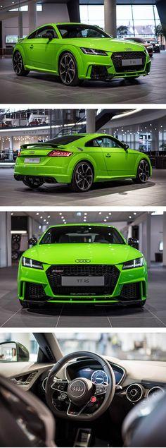 2017 Audi TT RS in green