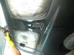 Кузовной ремонт автомобиля.  Покраска