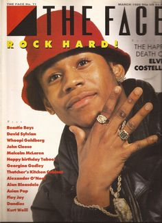 The Face Magazine No.71 LL Cool J Cover March 1986 Elvis Costello, BEASTIE BOYS on Etsy, $14.99