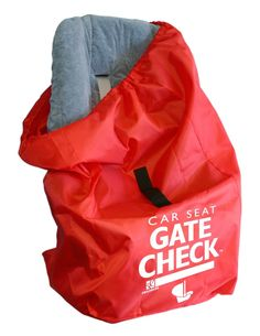 Red, Lightweight & Water-Resistan Check Bag for Car Seats. To ensure that this item fits your car seat, check the compatibility chart in Technical Specification section below (Click on User Manual). #1 Best-selling Gate Check Bag brought to you by J.L. Childress - the worldwide leading brand in car seat and stroller travel bags. Made of durable, yet lightweight and water-resistant material with double-stitched seams for strength. AIRLINE APPROVED and recommended by baggage handlers around...