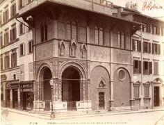 Флоренция - Piazza Duomo, Loggetta Bigallo