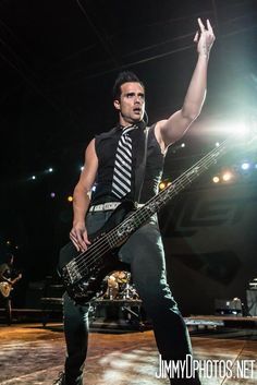 John Cooper [Lead singer of Skillet]. John was my first favorite rockstar and the first guy I really fangirled over.