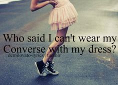 Who says? (of course I need converse before I can say that, but I'm looking)