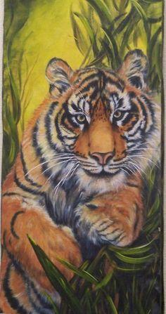x acrylic on canvas Orig. by David Sherman, Cool Art, Art Gallery, David, Canvas, Artist, Animales, Tela, Art Museum, Artists