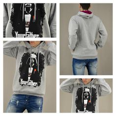''I am your father...'' Ανδρικό γκρι φούτερ Your Father. Διαθέσιμο σε: Γκρι, Μαύρο, Μπλε, Μπορντό!   #metaldeluxe #starwars #hoodies #mensclothes #menswear #mensfashion #newarrivals #DarthVader #shopping #onlineshopping #fashion #style