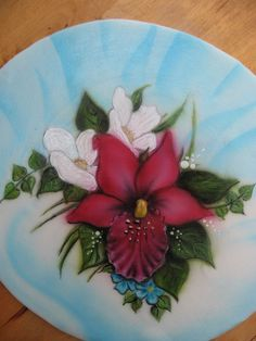 Aibrush flowers