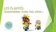 SAPOS Y CULEBRAS: LES PLANTES I LES FRUITES Presents, Education, Projects, Vocabulary, Plant, Gifts, Teaching, Training, Educational Illustrations