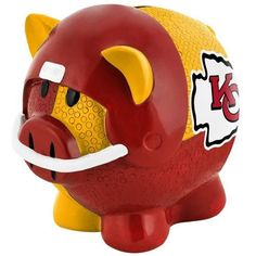 Kansas City Chiefs NFL Team Thematic Piggy Bank (Small)