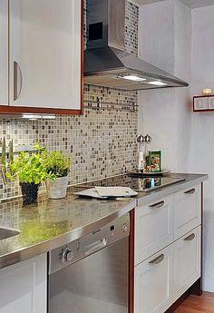 Cozinha – Revestindo a parede da pia e fogão belas cozinhas neste post