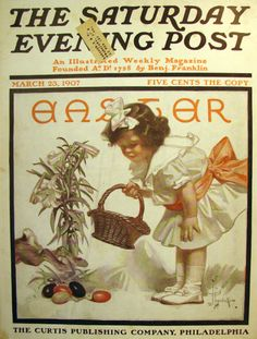 Easter by J. C. Leyendecker, March 23, 1907, Saturday Evening Post.