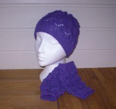 Lue og pulsvanter i Alpakka Beanie, Knitting, Hats, Handmade, Fashion, Moda, Hand Made, Tricot, Hat