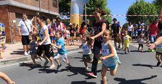 Llano abre sus fiestas entre pucheras y corriendo en apoyo al uso del euskera