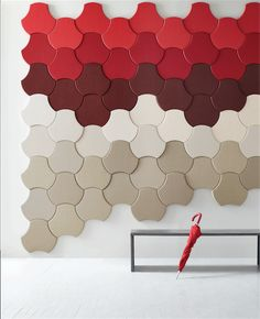 The newest extension of #Carnegie 's Xorel product line, Xorel ArtForm, combines textile and sound performance. #HospitalityDesign #HospitalityDesignMagazine #hdmag #products #wallcovering