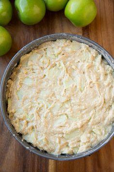 Irish Apple Cake with Custard Sauce   Cooking Classy