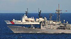 USCGC Mellon (WHEC-717) & USS Vandegrift (FFG 48)