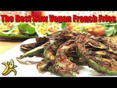 Raw French Fries (made from avocados). from http://www.therawadvantage.com/2015/12/french-fries-the-best-raw-vegan-french-fries-recipe/