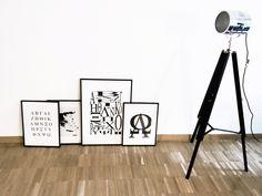 griechisches Alphabet Prints