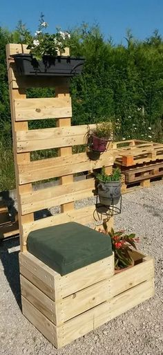Awesome Pallet Planter