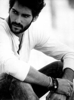 """Cristian Cruz, Spanish model, who is being touted as the """"New Velencoso""""."""