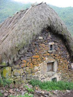 Braña La Pornacal (Somiedo)  Asturias  Spain
