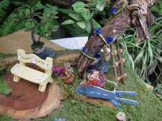 Las minis del bosque-Jardin de la casita en el árbol