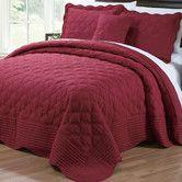 Found it at Wayfair - 4 Piece Quilted Cotton Bedspread Set