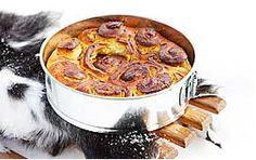 Масляный пирог с шафраном. Oil cake with saffron