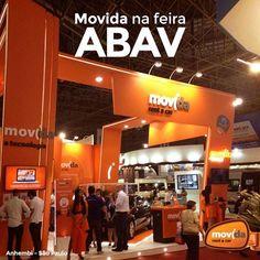 Vai à ABAV EXPO Internacional de Turismo?   A feira, que reúne diversos setores do ramo de viagens, conta com um stand da #MovidaRentACar. Dê uma passadinha por lá e confira nossas novidades!