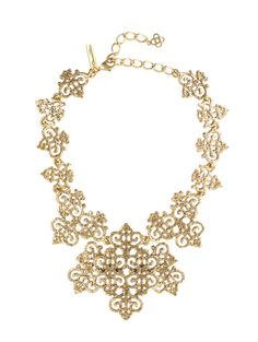 Russian Gold Filigree Necklace