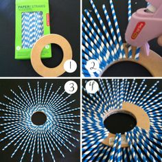 How to reuse plastic straws