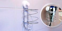 Soporte de pared para secador de pelo | woOw - Descuentos Urbanos