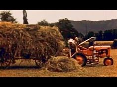 """Hay Farming: """"Grass Is Gold"""" Allis-Chalmers Tractor Division Allis Chalmers Tractors, Division, Farming, Monster Trucks, Films, Youtube, Gold, Movies, Cinema"""