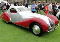1937 Talbot Lago T150-SS Figoni & Falaschi Coupe #Cars