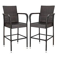 Wicker Patio Chairs | Find Best Patio Chairs Wicker Bar Stools, High Bar Stools, Outdoor Bar Stools, Bar Stool Chairs, Wicker Chairs, Outdoor Chairs, Rattan Sofa, Patio Chairs, Modern Stools