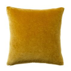 Created from luxuriously soft cotton velvet, the Bombay cushions make a fabulous addition to any home. Featuring a solid colour design, they are ideal to mix and match with new or existing accessories. Mustard Bedroom, Mustard Bedding, Linen Bedding, Bed Linens, King Bedding Sets, Luxury Bedding Sets, Queen Sheets, Bed Sheets, Hotel Collection Bedding