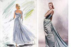 edith head dresses   VINTAGE   FILM: Spotlight   Edith Head ~ Designer Extraordinaire