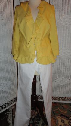 This is another ensemble to Doncaster's   8 GR8 Style Pieces. Includes: Second Jacket and Jeans.