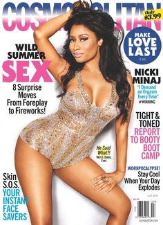 Bronze Magazine » Celebrating Women of Color » Nicki Minaj Covers the July 2015 Issue of Cosmopolitan