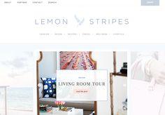 http://victoriamcginley.com/portfolio/lemon-stripes-blog/