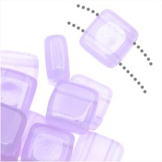 CZECHMATES GLASS 2 HOLE SQUARE TILE BEADS 6MM MILKY ALEXANDRITE 1 STRAND from beadaholique.com