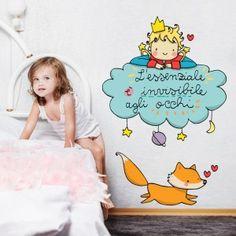 Il Piccolo Principe sulla nuvola