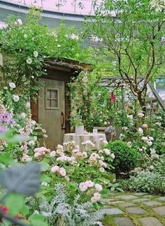 Love gardens like this