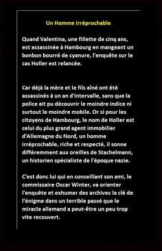 Jacqueline Chambon Noir - 2006-09 -Christian V. Ditfurth - Une Homme Irréprochable - Verso