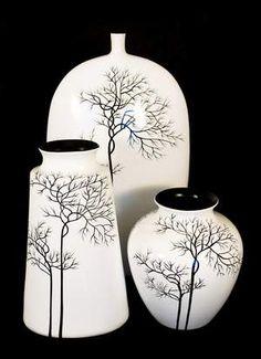 vasos de ceramica pintados a mao - Google Search
