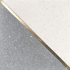 Basel 2 By Tabarka Studio Terrazzo Flooring, Stone Flooring, Concrete Wood, Concrete Floors, Floor Design, Tile Design, Townhouse Exterior, Terrazo, Metal Floor